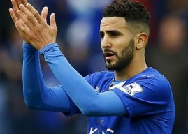 Resmi, Mahrez Perpanjang Kontrak di Leicester City